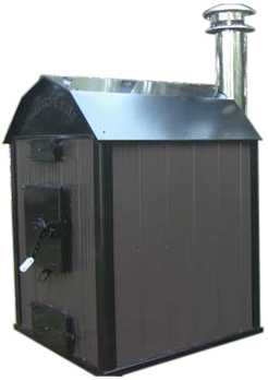 Outdoor Wood Furnace - Crown Royal Stoves - Northland Distributing